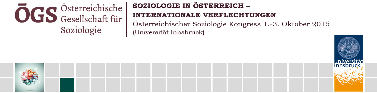 ÖGS-Kongress - Soziologie in Österreich - Internationale Verflechtungen